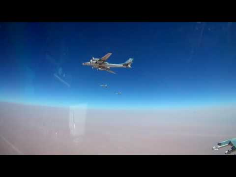 Russian strategic bombers target ISIS positions with newest airborne cruise missiles in Syria - MoD