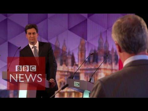Farage: Labour spending cuts 'peanuts' - BBC News