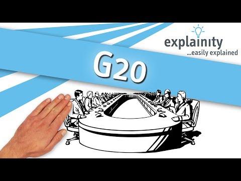 G20 easily explained (explainity® explainer video)