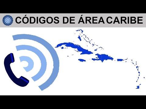 CÓDIGOS DE ÁREA CARIBE