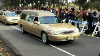 Whitney Houston's Burial in NJ