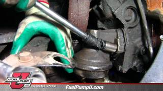 How to Install Mechanical Fuel Pump in 1969-1988 Chevrolet & GMC Trucks Manual