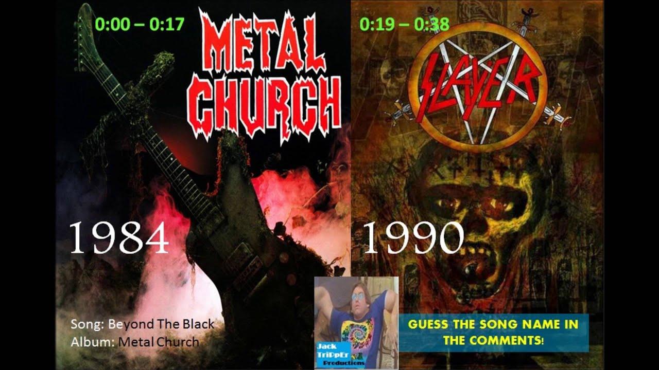 黒を越える金属教会