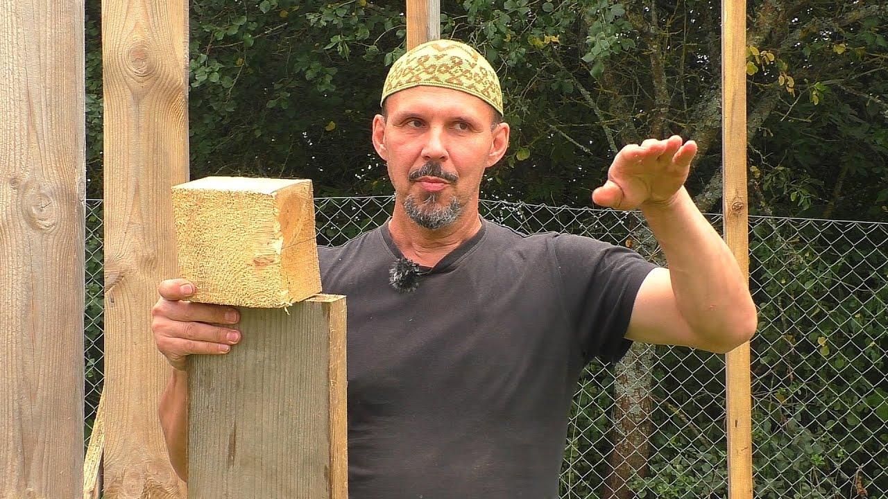 Строим птичник - фундамент, стойки и мясо
