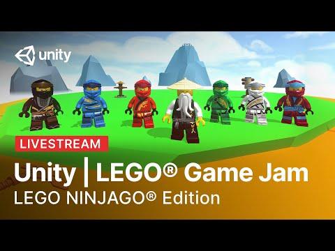 Unity x LEGO Game Jam: Ninjago Edition | Livestream