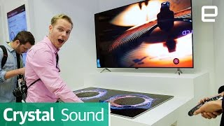 LG Display's Crystal Sound OLED Prototype: First Look