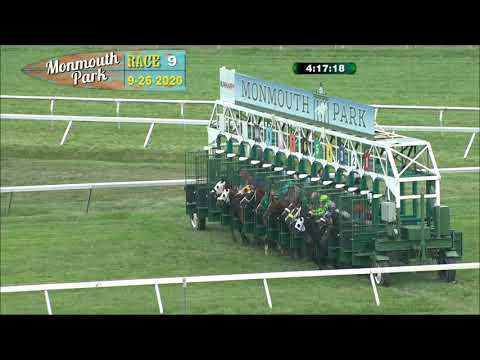 video thumbnail for MONMOUTH PARK 09-26-20 RACE 9