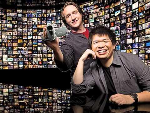 Chad Hurley, Steve Chen y Jawed Karim