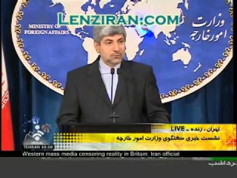 Foreign ministry spokesman answer a question about US sanction on Iranian Central Bank