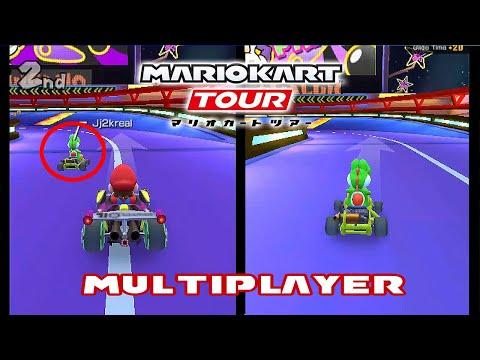 Mario Kart Tour | 2 Player Beta Test (60fps)