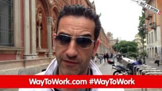 2014_Adecco #WayToWork - backstage con Matteo Viviani