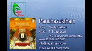 Download Sanskirit - Vedam -  Vedas - Neela Suktam - Album_Panchasuktham MP3 song and Music Video