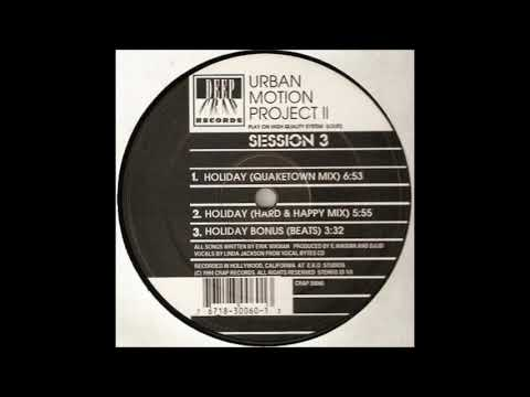 The Urban Motion Project - Holiday (Quaketown Mix)