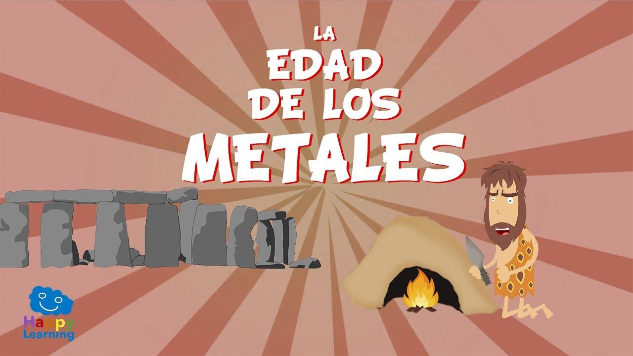 La Edad De Los Metales Vídeos Educativos Para Niños