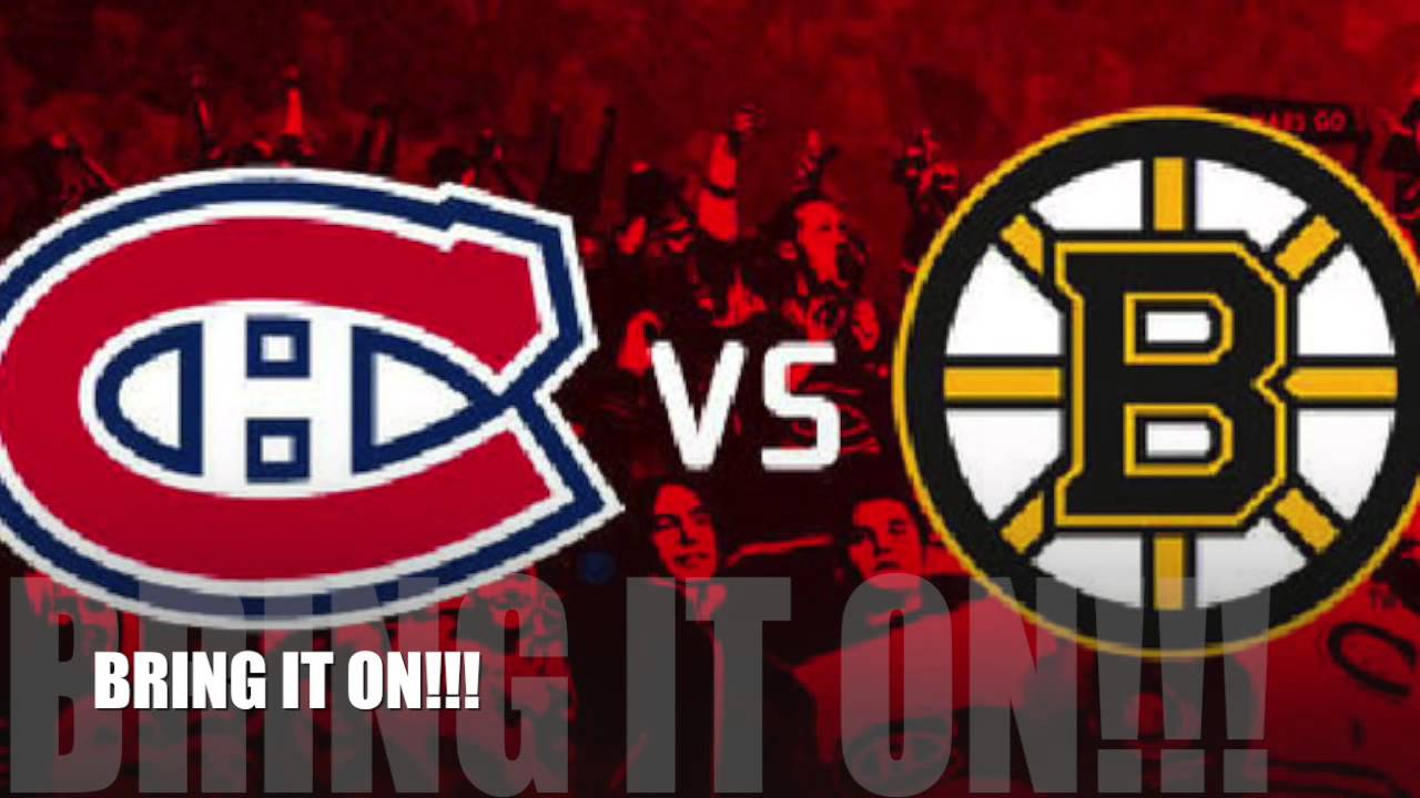 Canadiens Vs Bruins 2014 Playoffs GO HABS GO YouTube