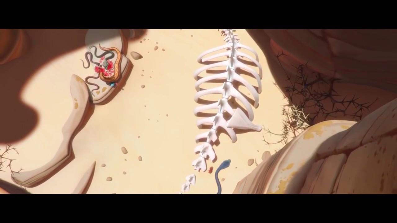 LOUANE Et OMAR SY Sont Des Serpents Dans SAHARA ! (Animation,2017)_HD.MP4