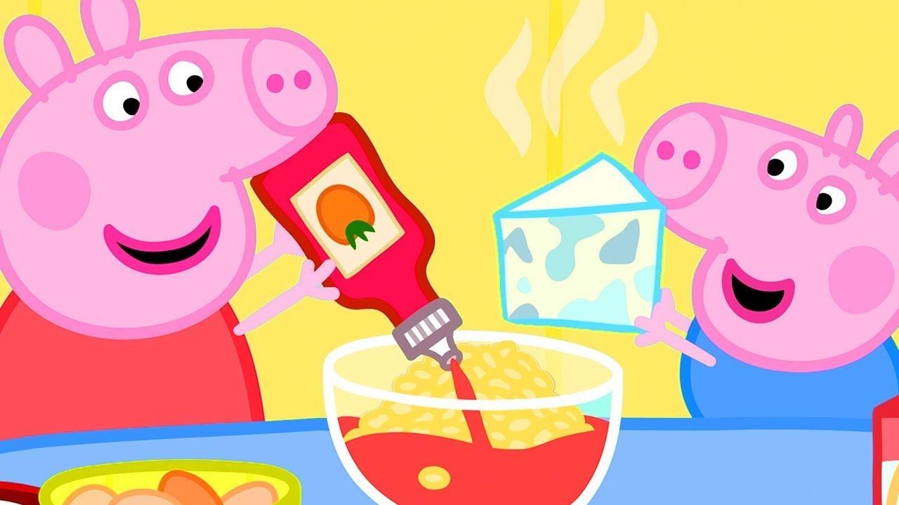 Peppa Pig Português Brasil 🍳 Cozinhando com a Peppa | Desenhos Animados