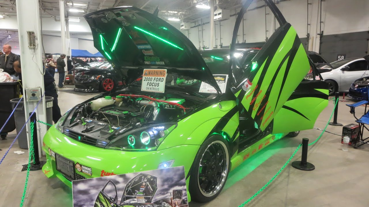 2000 Ford Focus Custom At 2014 MegaSpeed Car Show  YouTube