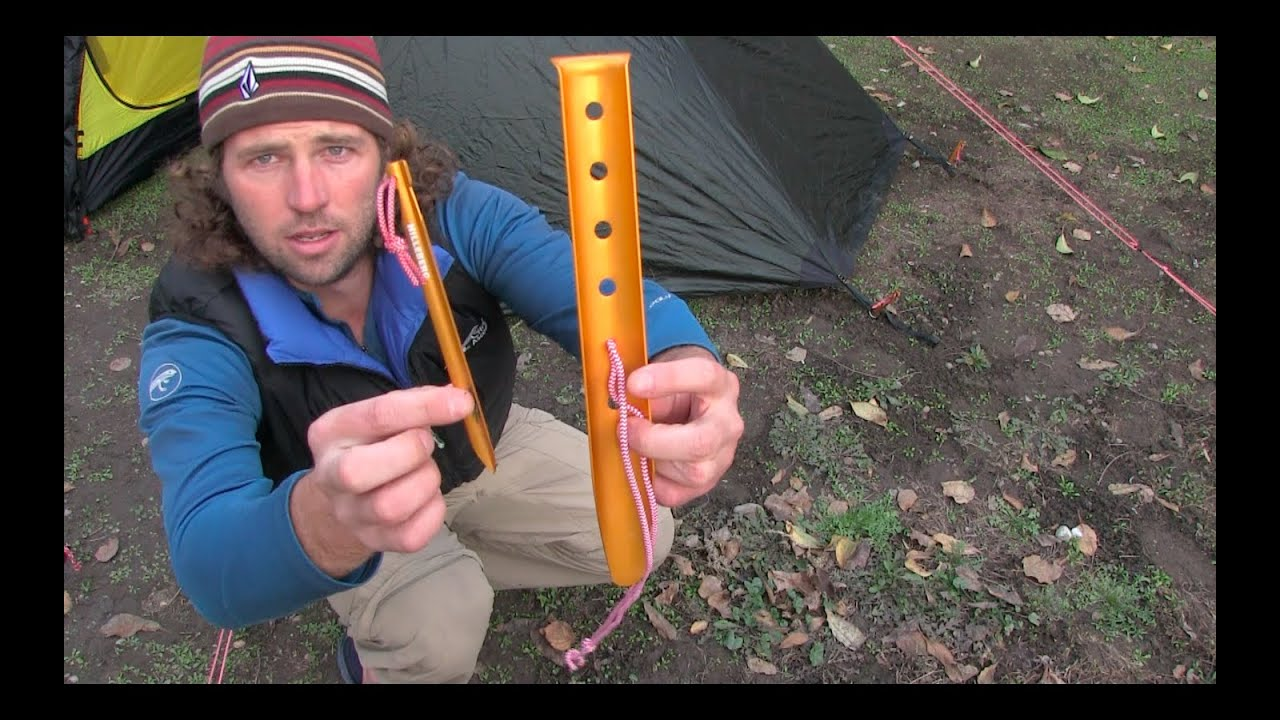 sc 1 st  YouTube & Hilleberg Sand u0026 Snow Pegs - YouTube