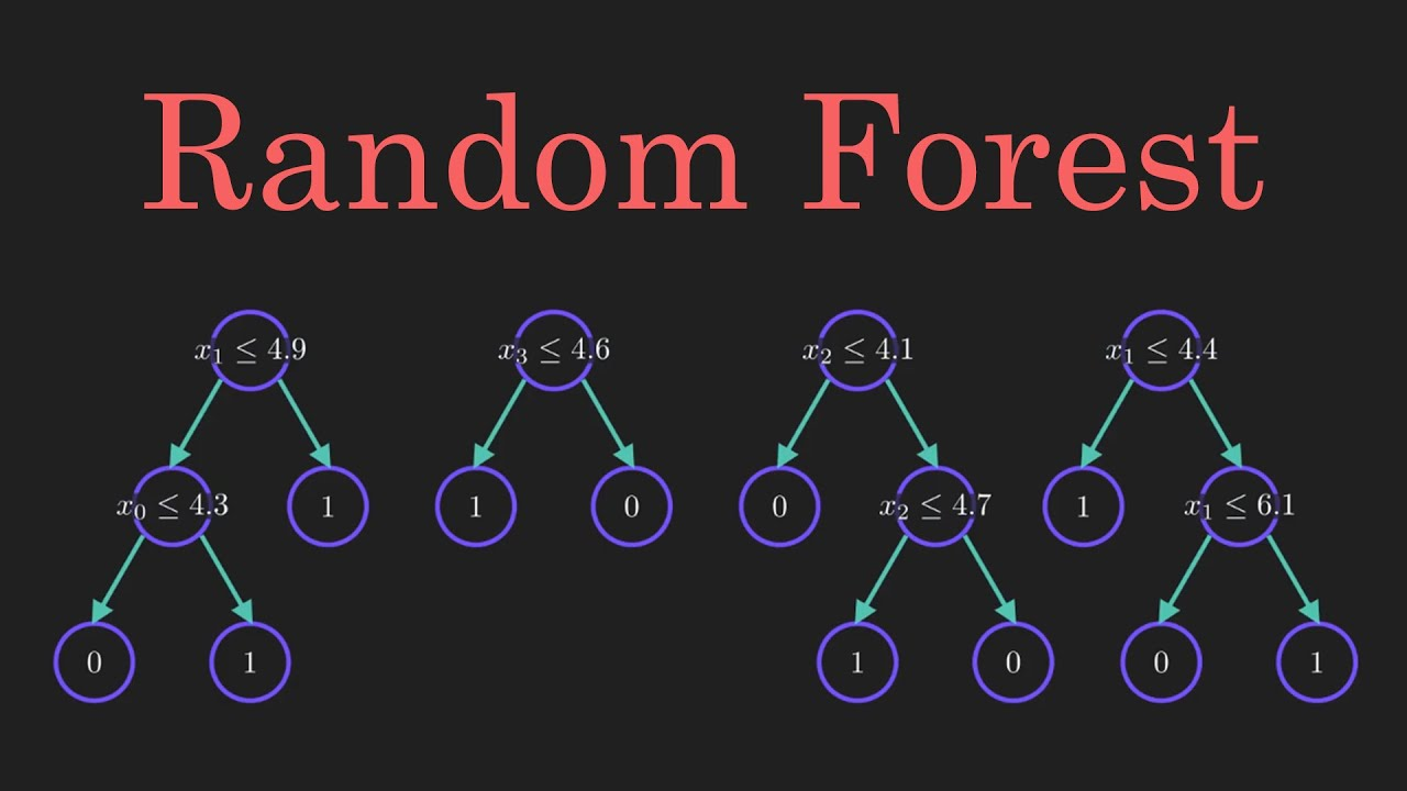 Random Forest Algorithm Clearly Explained!