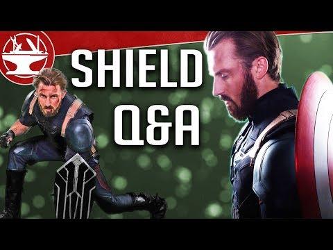 Wakandan Shield (QUESTIONS AND ANSWERS)