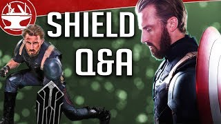 Wakandan Shield (QUESTIONS AND ANSWERS)