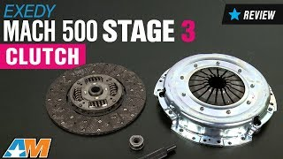 2015 2017 mustang gt exedy mach 500 stage 3 clutch review