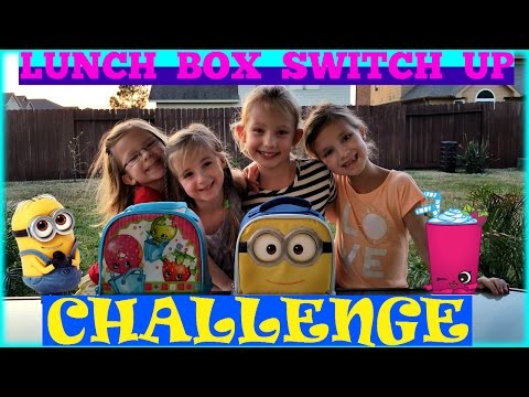 LUNCH BOX SWITCH UP CHALLENGE - Magic Box Toys Collector