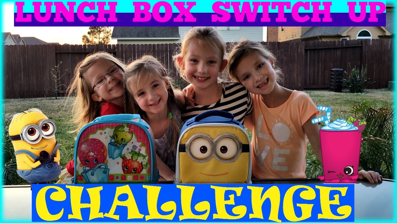 Switch It Up Toys : Lunch box switch up challenge magic toys collector