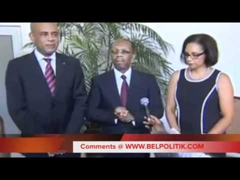 Rencontre President Michel Martelly & Jean-Bertrand Aristide