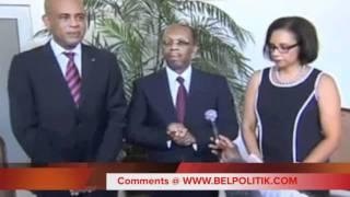 Rencontre President Michel Martelly & Jean-Bertrand Aristide