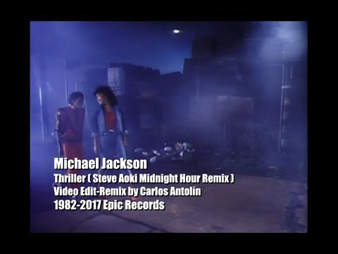 Michael Jackson - Thriller ( Steve Aoki...