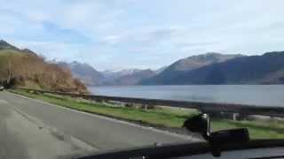Driving in the Scottish Highlands - Kyle of Lochalsh to Nia Roo