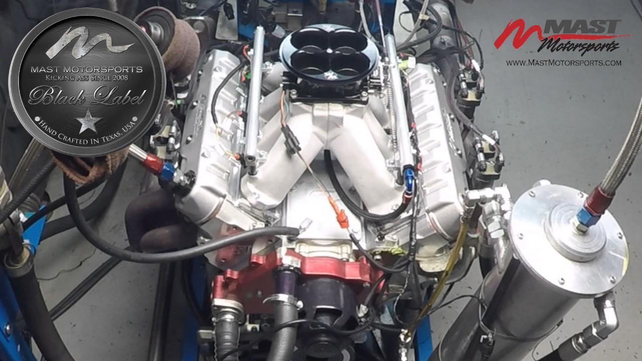 Mast Handbuilt RHS 466 Black Label Engine Dyno - YouTube