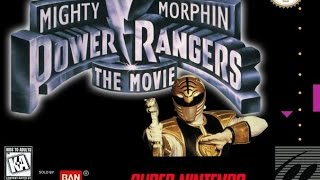 Power Rangers The Movie (Snes - Super Nintendo) - Nostalgia Games