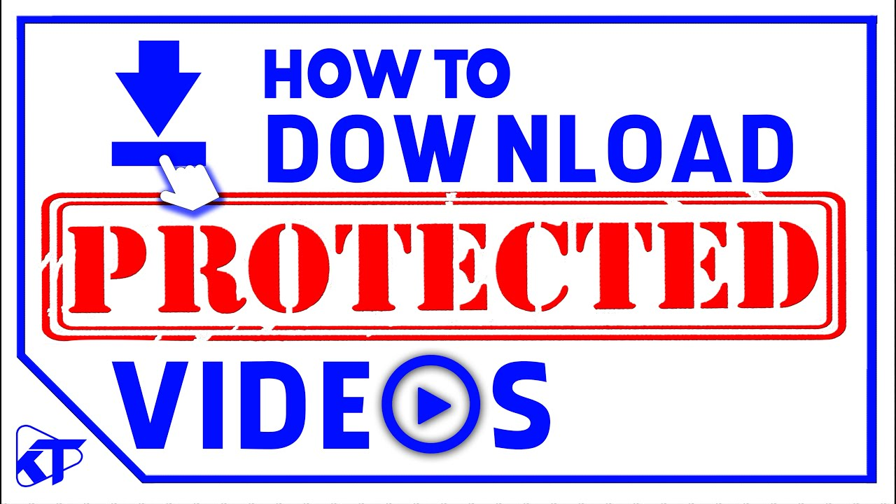 Download How To Download Protected Video
