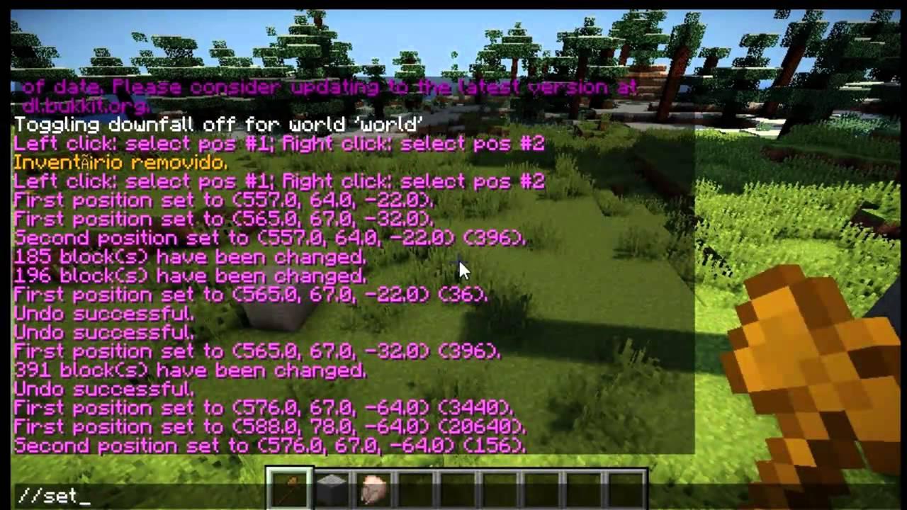 minecraft worldedit plugin 1.5.2