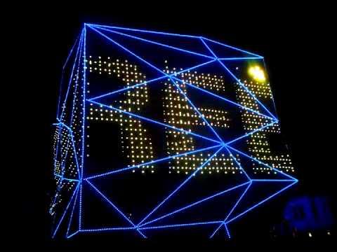 led video curtain