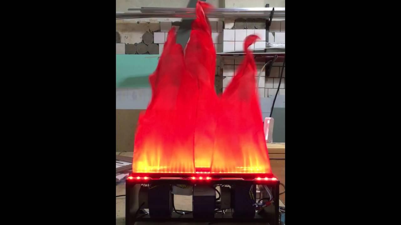 Искусственное пламя своими руками