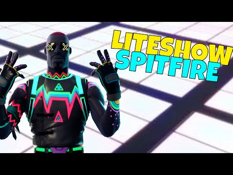NEW Liteshow Spitfire Build Gameplay! Hero Loadout Review | Fortnite Save The World