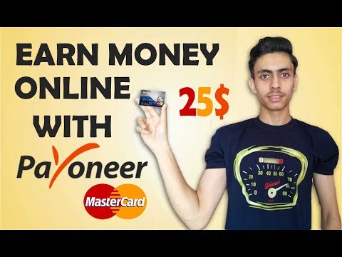 How To Earn Money Online Fast From Home - With Payoneer Affiliate Program {Urdu/Hindi}