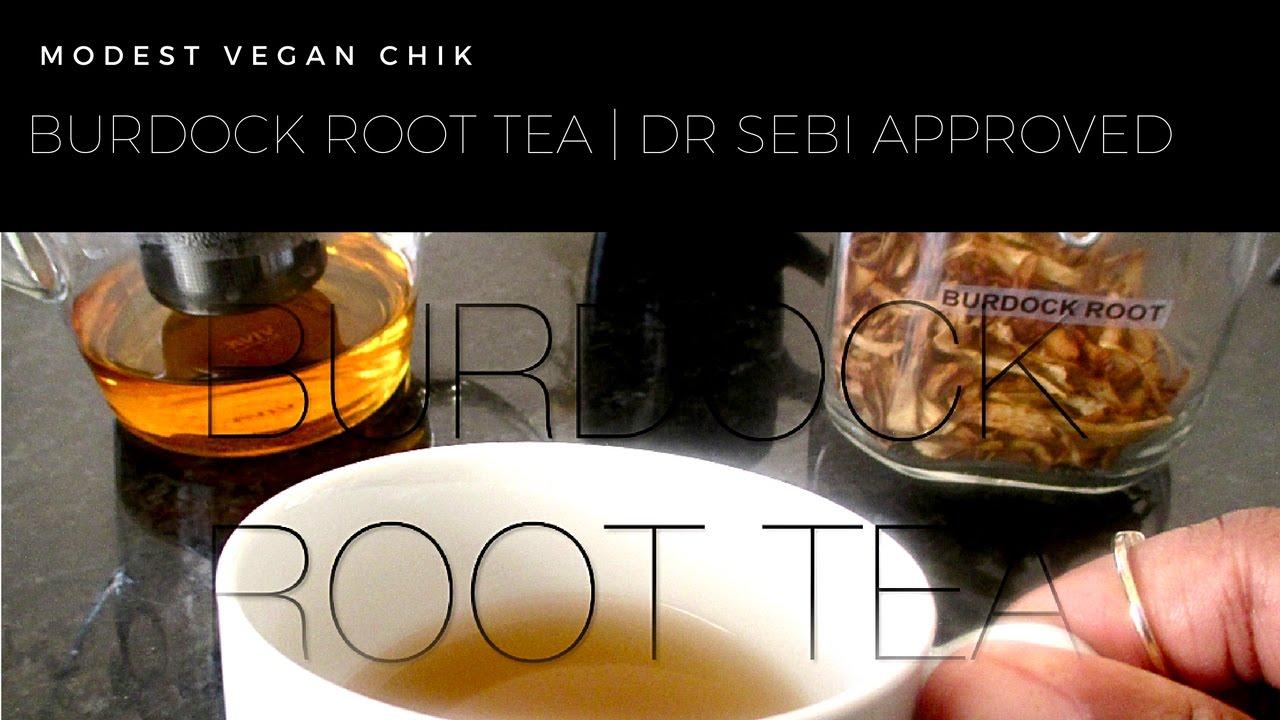 Burdock Root Tea Recipe   Dr Sebi Approved