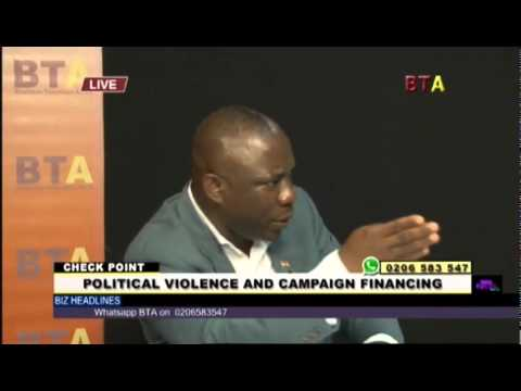 Political Violence And Campaign Financing 1