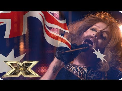GINGZILLA DOES IT FOR AUSTRALIA DAY! | The X Factor UK
