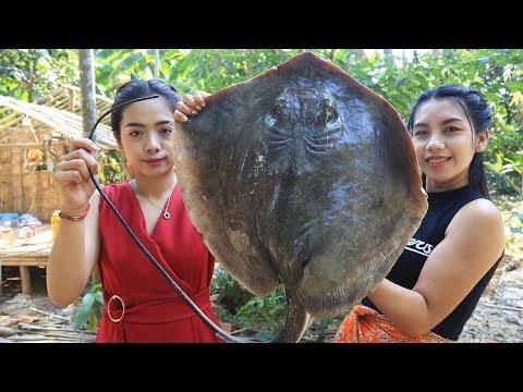 Yummy cooking stingray fish recipe - Cooking sea food