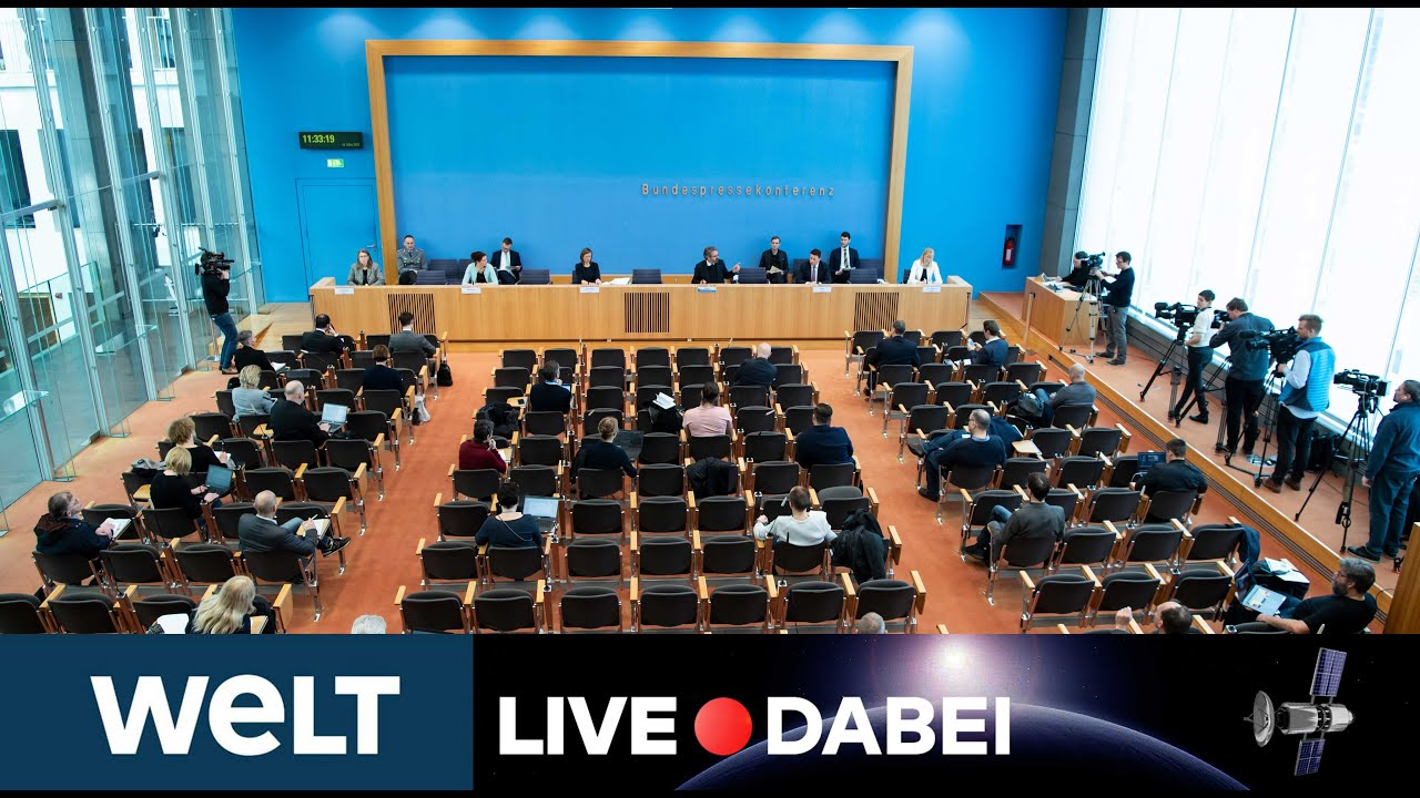 Regierungspressekonferenz Live