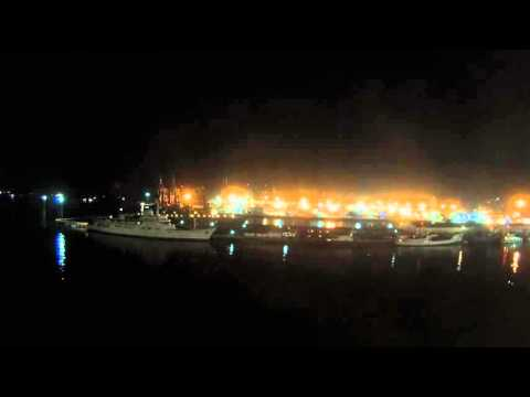 Manila, Philippines - Legend of the Seas Arrives in Manila Time Lapse HD (2015)