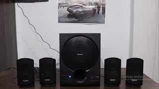 SONY SA-d40 4.1 multimedia speaker system Long term review