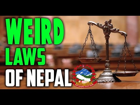 TOP 5 weird laws of Nepal || funny laws of Nepal (most shocking)