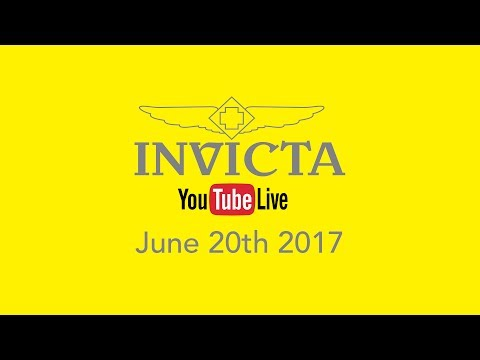Invicta YouTube Live - Limited Edition Timepieces